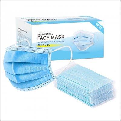 Jednokratna maska troslojna