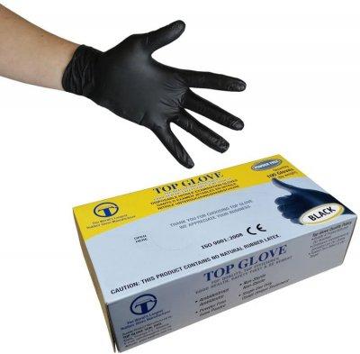 Nitrilne rukavice SLIMCARE CRNE S
