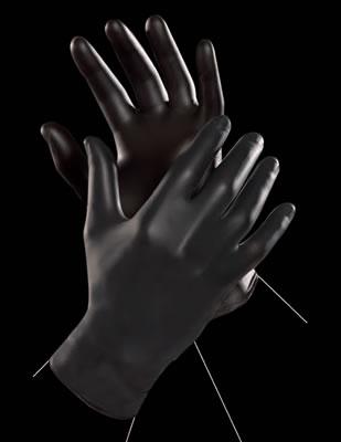 Lateks hirurske rukavice BLACK