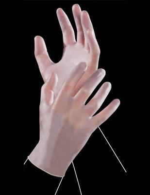 Vinil rukavice CLEAR